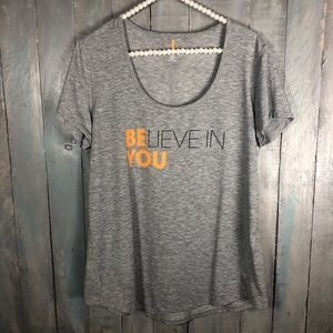 Lucy Believe In You Graphic Top